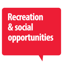 Recreation & social opportunities